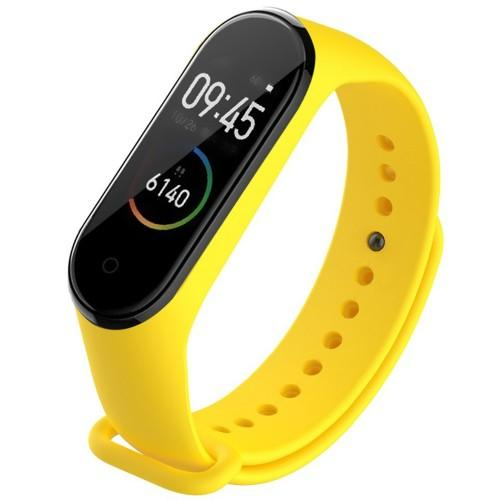 TAMISTER Single Color Sports Band Replacement Wristband TPE Watch Strap for Xiaomi Mi Band 4