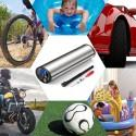 ZEEPIN AP - 101 Mini Electric Inflator with Tyre Pressure Gauge and LED Light
